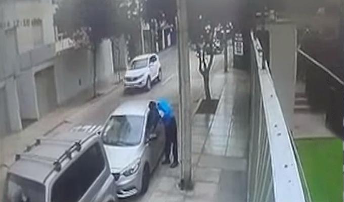 Miraflores: sereno aprovechó que estaba dormido y robó celular a taxista