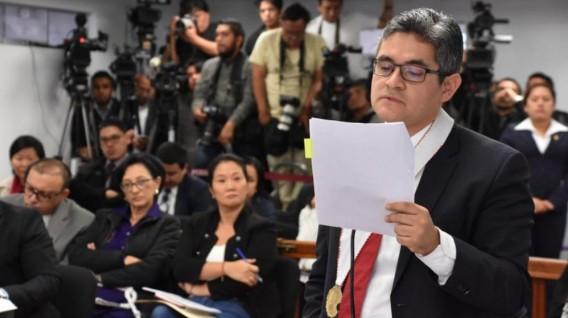 Keiko Fujimori: Domingo Pérez pide que fiscal y juez que verán casación se inhiban