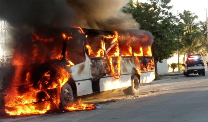 Barranca: camión se incendió en el distrito de Pativilca