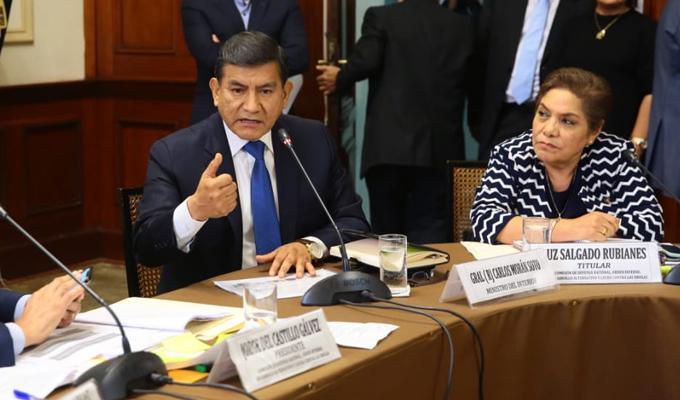 DIVAC declara sobre intervención policial en casa de Alan García
