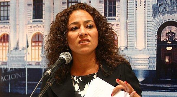Cecilia Chacón descarta postular a la presidencia del Congreso