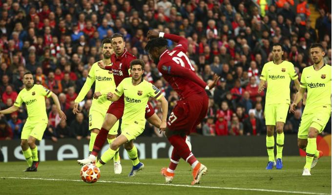 Así se vivió en las tribunas la histórica victoria de Liverpool ante Barcelona