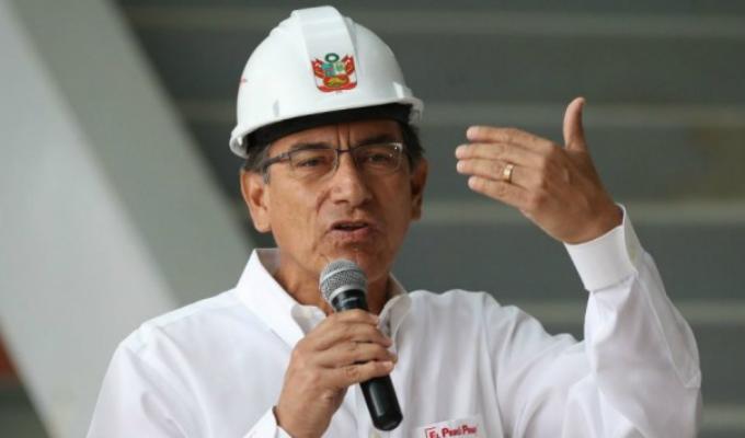 Presidente Vizcarra demanda al Congreso debatir reforma política
