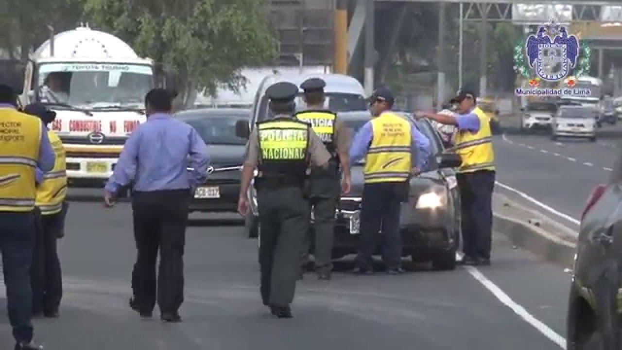 Rímac: operativo del SAT contra colectiveros termina en enfrentamiento