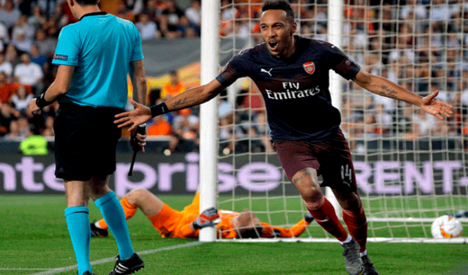 Europa League: Arsenal vence 4-2 a Valencia y logra su pase a la final