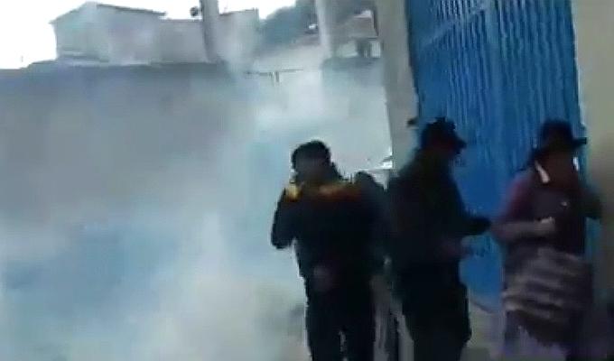 Andahuaylas: enfrentamiento por niñas asesinadas dejó 14 policías heridos
