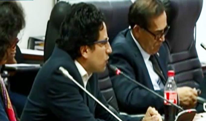 Periodista de Panorama amplió información sobre investigación a congresista Vieira
