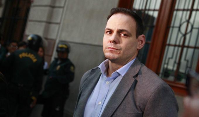 PJ evaluó hoy pedido de impedimento de salida del país contra Mark Vito