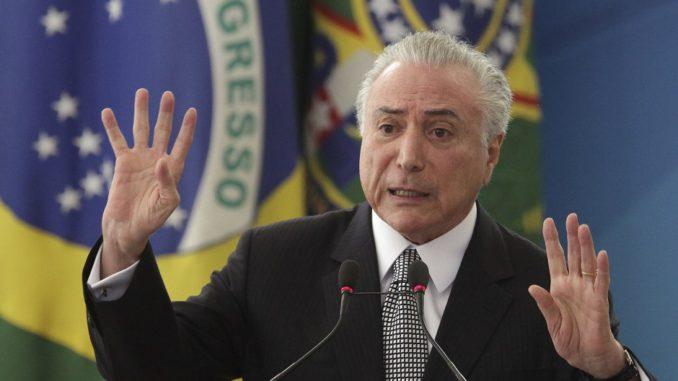 Justicia brasileña revoca prisión preventiva dictada contra el expresidente Temer