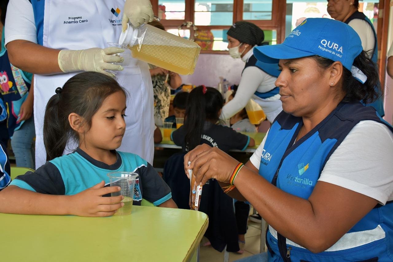 Ventanilla: grupo de niños venció la anemia gracias a galletas creadas por ayacuchano