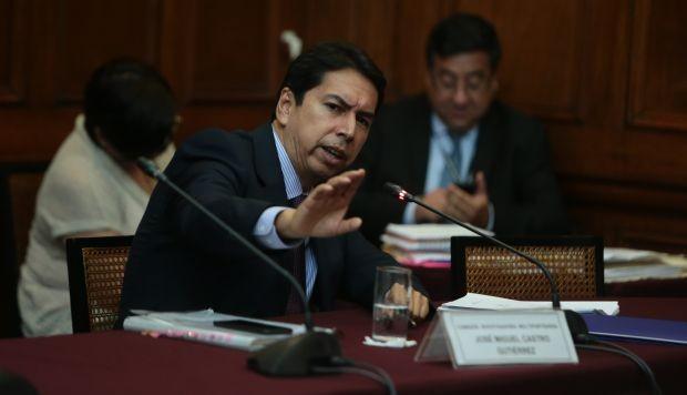 Poder Judicial ordenó 18 meses de prisión preventiva para José Miguel Castro