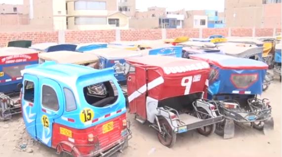 Acusan a grupo de mototaxistas de intentar tomar depósito municipal en Los Olivos