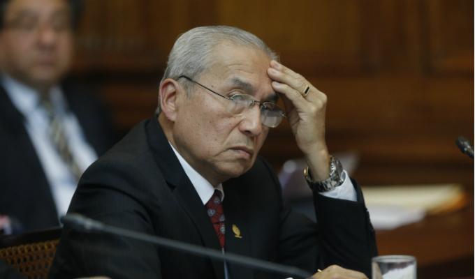 Sheput recomendó destitución de Pedro Chávarry por caso 'Cuellos blancos'
