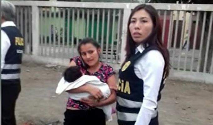 Surco: niñera es investigada por presunto secuestro de bebé