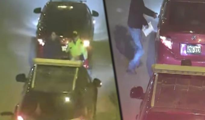 Huancayo: detienen a policías que habrían recibido presunta coima de taxista