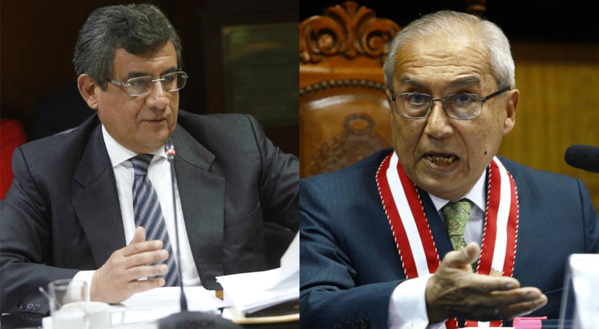 Juan Sheput presentó informe final sobre denuncias contra Pedro Chávarry