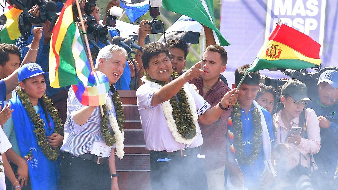 Bolivia: presidente Evo Morales inicia su campaña de reelección