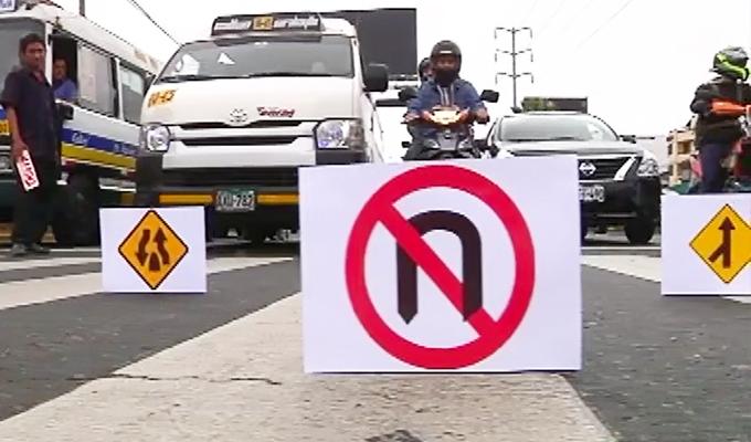 Señalizaciones de tránsito: examen de manejo al paso refleja una preocupante realidad