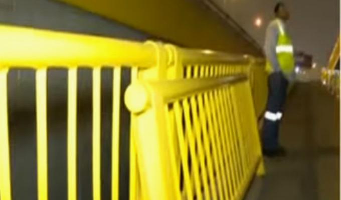SJM: baranda de puente por donde cayó pareja de enamorados habría estado oxidada