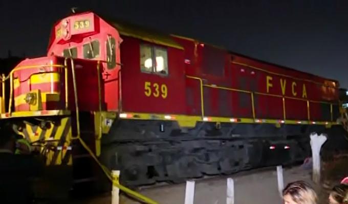 Cercado: mujer muere atropellada por salvar a embarazada de las vías del tren