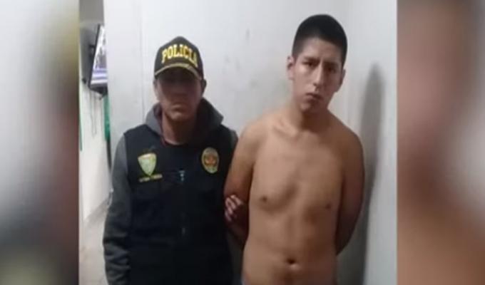 'Pastelito', vendedor de drogas de 19 años fue detenido por la PNP