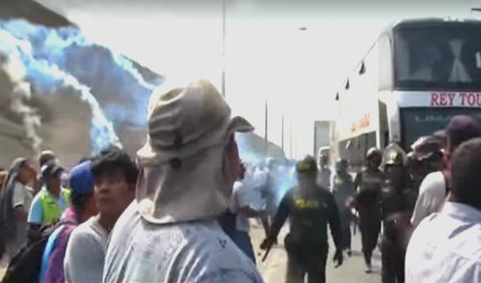 Protestas por agua y desagüe: Sedapal emite comunicado sobre obras