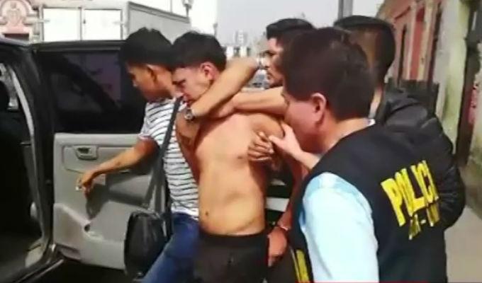 Capturan a sicario 'Tiro flojo' en Cercado de Lima
