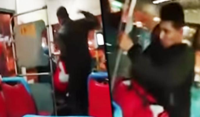 Corredor Azul: pasajero agrede salvajemente a conductor en el Rímac