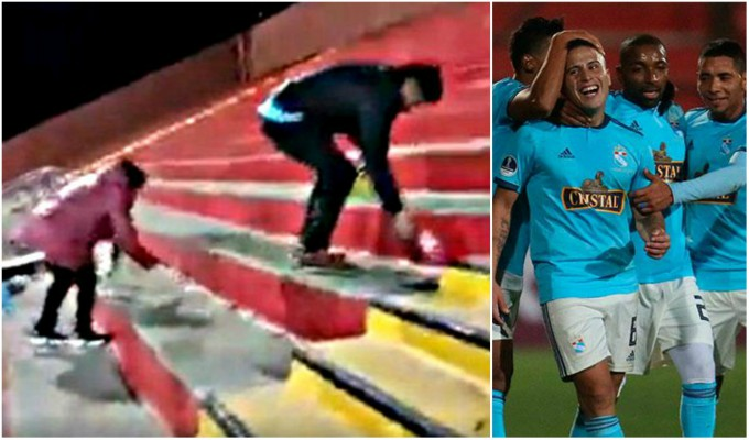 Sporting Cristal: hinchas limpiaron estadio tras golear a Unión Española