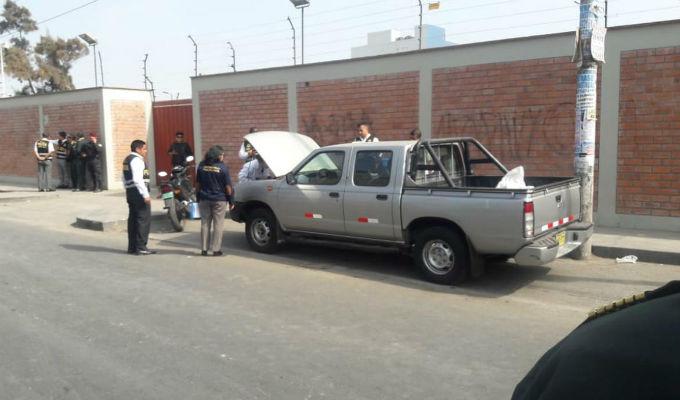 Ladrón murió de dos disparos en la cabeza tras robar vehículo