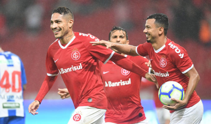 Sumó su 8vo gol: Depredador anota en triunfo de Inter y avanza a cuartos de la Copa Brasil