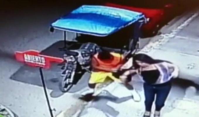 Cámaras registraron violentos asaltos al interior del país