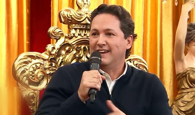 """Daniel Salaverry: Presidente del Congreso se presentó en """"Porque hoy es sábado con Andrés"""""""