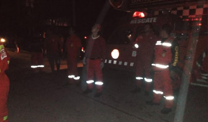 [FOTOS] Terremoto en Loreto: bomberos inspeccionan zonas afectadas en Yurimaguas