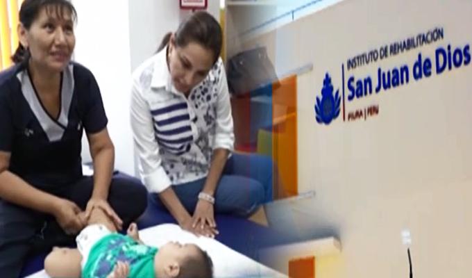 Teletón: Rosana Cueva estuvo presente en inauguración de centro de rehabilitación en Piura