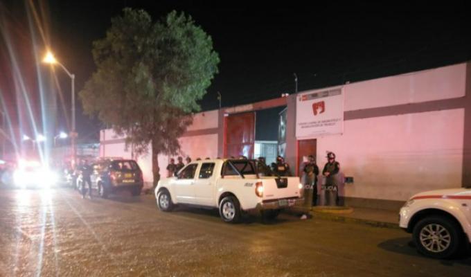 Trujillo: motín en correccional deja tres policías heridos