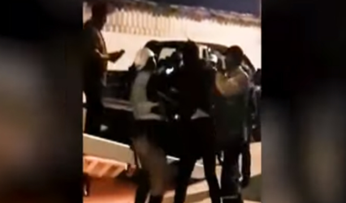Cusco: familia agrede a policías de tránsito durante intervención