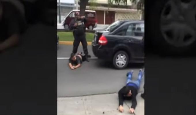 Surco: exmarine estadounidense se enfrentó a delincuentes y frustró asalto