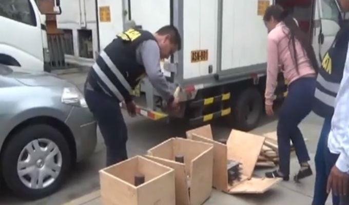 PNP incauta droga del cartel de Jalisco en el Perú