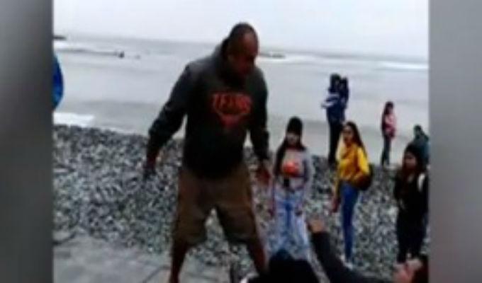 Miraflores: vecino denunciado protagoniza agresión en playa Makaha
