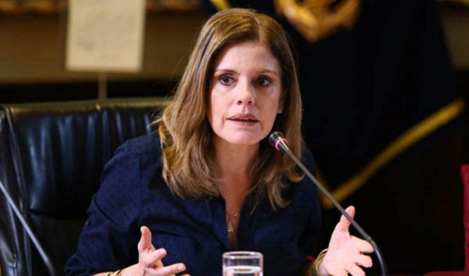 """Mercedes Aráoz: Olaechea quiso enviar """"un mensaje de diálogo"""" a Vizcarra"""