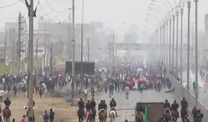 Puente Piedra: más de 2 mil personas participaron de marcha contra peaje