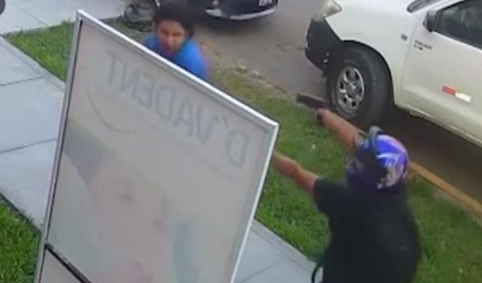 Trujillo: delincuente armado asalta a universitario a plena luz del día