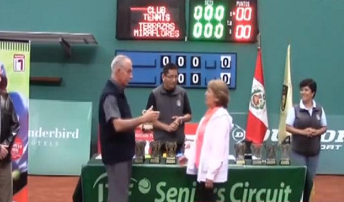 Perú será sede de torneo senior de tenis