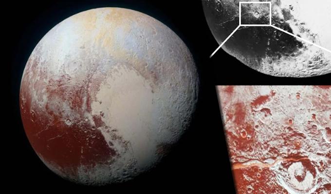 NASA encuentra en Plutón elemento clave para que haya vida extraterrestre
