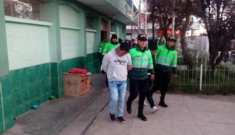 Pasco: sujetos ebrios detonan granada y dejan dos personas heridas