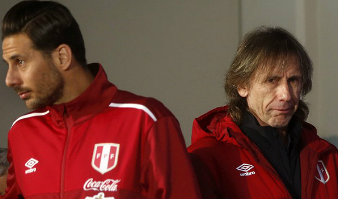 """Ricardo Gareca: Me hubiera gustado tener a Claudio Pizarro """"en su mejor momento"""""""