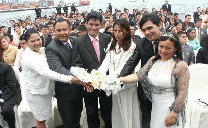 INEI revela que 298 peruanos contraen matrimonio al día y otras 72 se divorcian