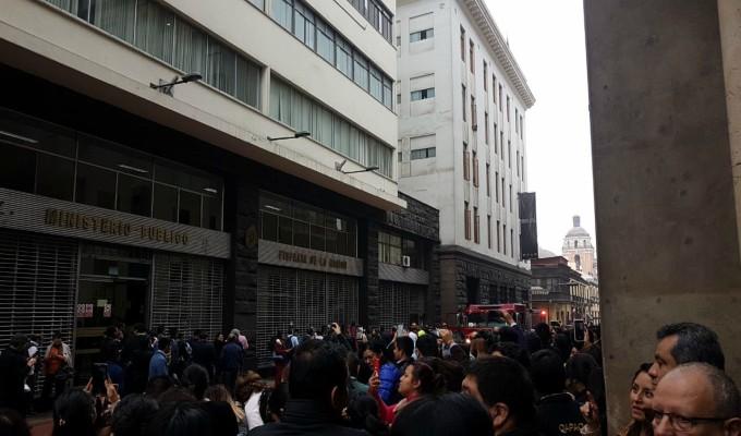 Incendio en Fiscalía de Lavado de Activos: descartan heridos y documentación afectada