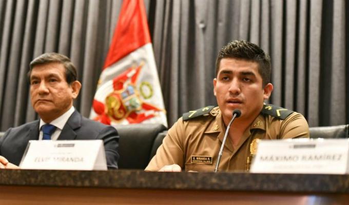 Elvis Miranda: ordenan comparecencia con restricciones para suboficial